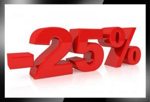 Korting van 25% op maatwerkaanpassingen